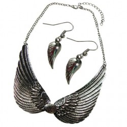Wings Necklace & Earrings Set