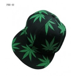 Green Leaf Strapback Hat