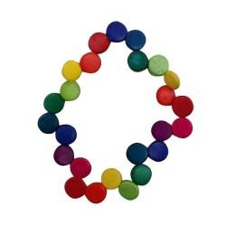 Coconut Multi Colored Bracelet