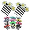 Fimo Flower Hair Comb