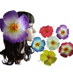 Hibiscus Flower Hair Stick