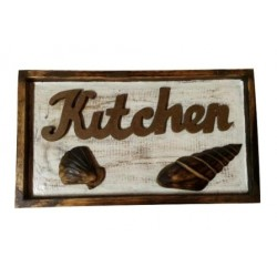 """Kitchen"" Wood Sign"