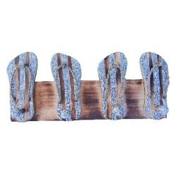 Wooden Coat Hanger (Flip Flops)