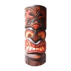 30CM Hand Carved Wooden Tiki Mask