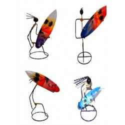Iron Man With Surf Board Display (Large)