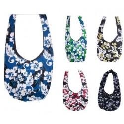 Hibiscus Flower Pattern Shoulder Bag