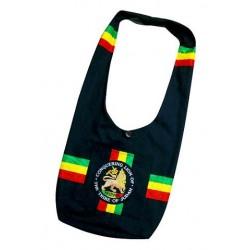 Black Rasta Bag - Lion of Judah