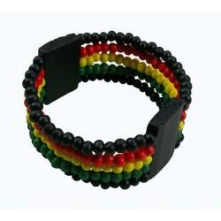 Rasta Beads Bracelet