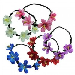 Flower Elastic Head Band