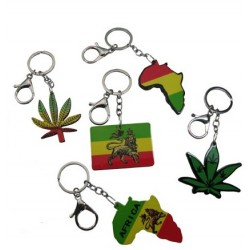 Rasta Key Chains