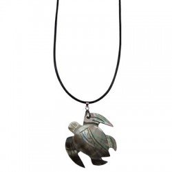 Turtle M.O.P Shell Necklace