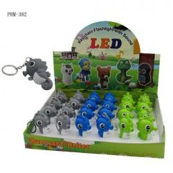 Flash Light Sea Horse Key Chain