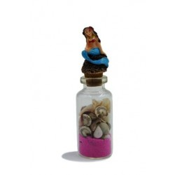 Sand&Shell Beach Bottles Magnet(Decor)