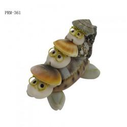 Turtle Figurine Seashell Crafts