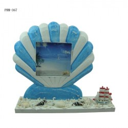 Seashell Photo Frames