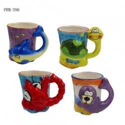 Sea Animal Mug (3D Sculpted Design)