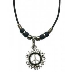 Peace Sign Pendant Necklace