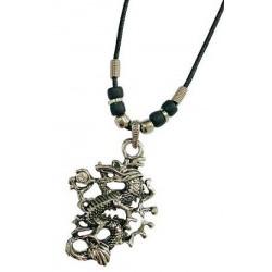 Metal Dragon Necklace