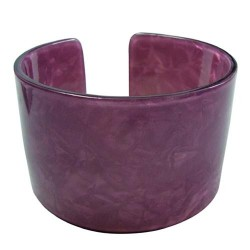 Purple Color Turtle Bangle