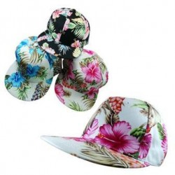 Hawaiian Motif Strap Back Hat