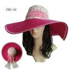 Pink Floppy Beach Hat