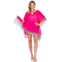 Hot Pink Beach Cover-Up