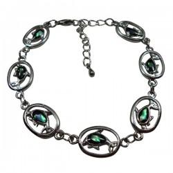Ring Dolphin Paua Shell Bracelet & Anklet