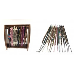 Bracelets With Display Rack Set
