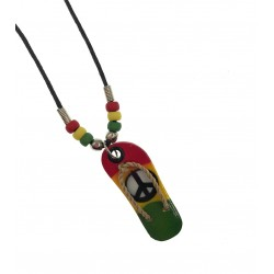 Rasta Sandal Necklace