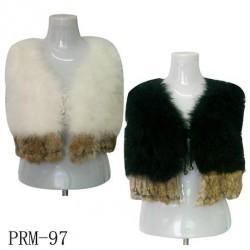 Ostrich Fur Vest
