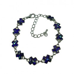 Cross Paua Shell Bracelet/Anklet