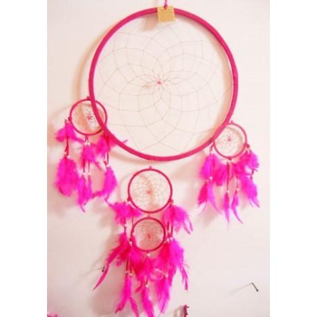 Large Pink Dream Catcher