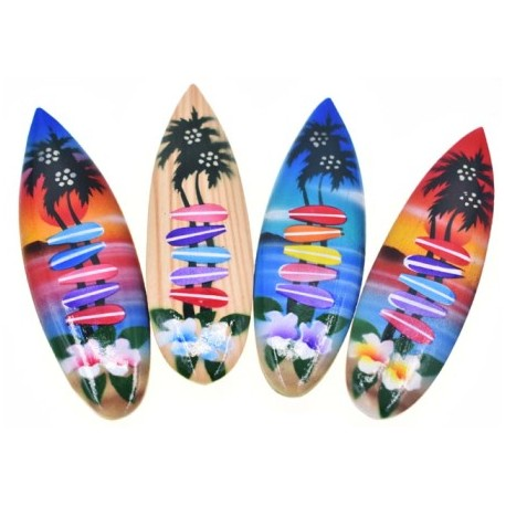 Surf Board Magnet With Destination Signs