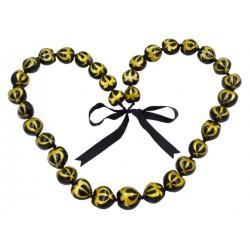 Full Gold Turtle Kukui Nut Lei/Necklace