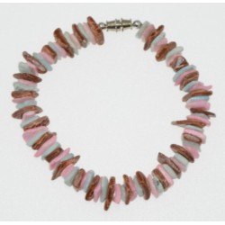 Rose Clam Shell Bracelet