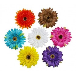 Sun Flower Hair Clips