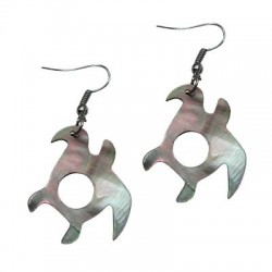 M.O.P Turtle Earrings