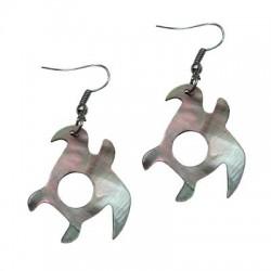 M.O.P Turtle Earrings