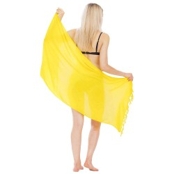 Solid Color Half Sarong