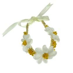 Yellow Mongo Shell Bracelet