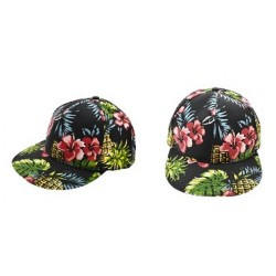 Hawaiian Style Snap Back Hats