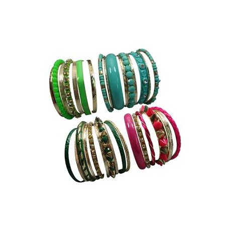 7 Layer Color Bangle Bracelet