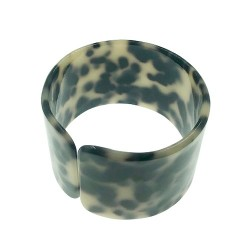Faux Turtle Shell Bangle
