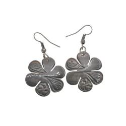 M.O.P Flower Shell Earrings
