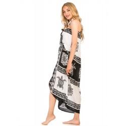 Turtle Pattern Sarong Dress