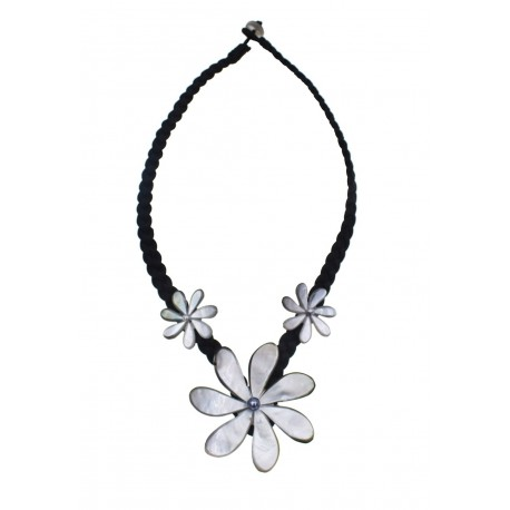 Tiare Flower Shell Necklace