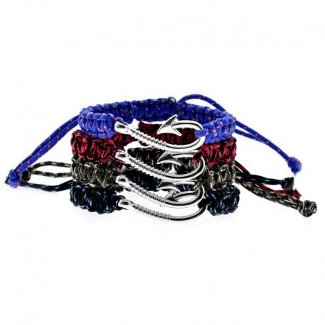 Fish Hook Pendant Bracelet