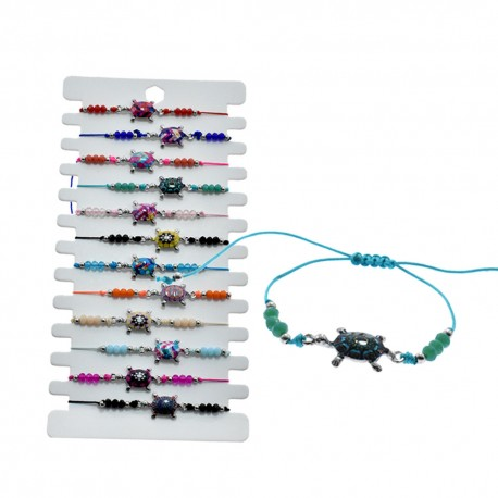 Turtle Pendant Bracelet