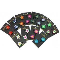 Fimo Flower Hair Pins