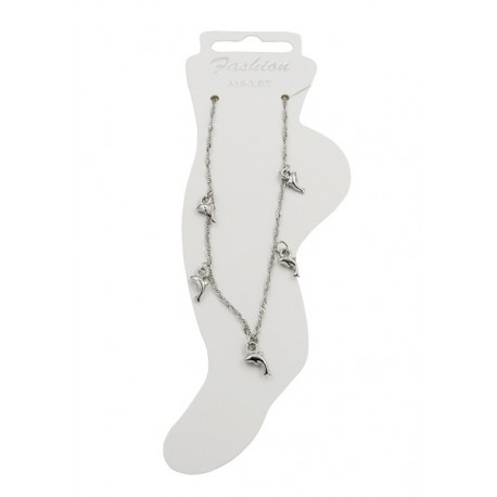 Dolphin Charms Anklet